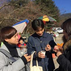 Probando comida loca coreana: saltamontes fritos en Gyeongju