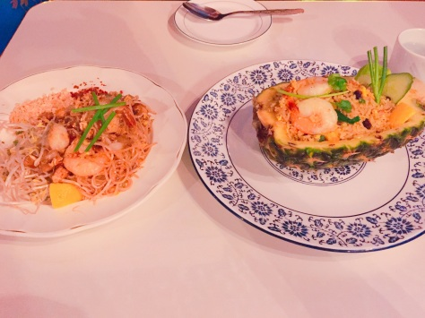 Comida tailandesa en Dongnamah
